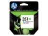 Cartucho HP 351 XL tinta COLOR (CB338EE) Alta Capacidad