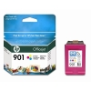 Cartucho HP 901 tinta COLOR (CC656AE)