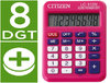 Calculadora de bolsillo Citizen LC-110 Rosa